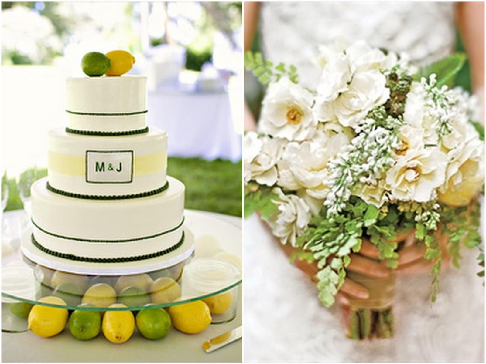 Yellow-Green-Fruits-Wedding-Inspiration