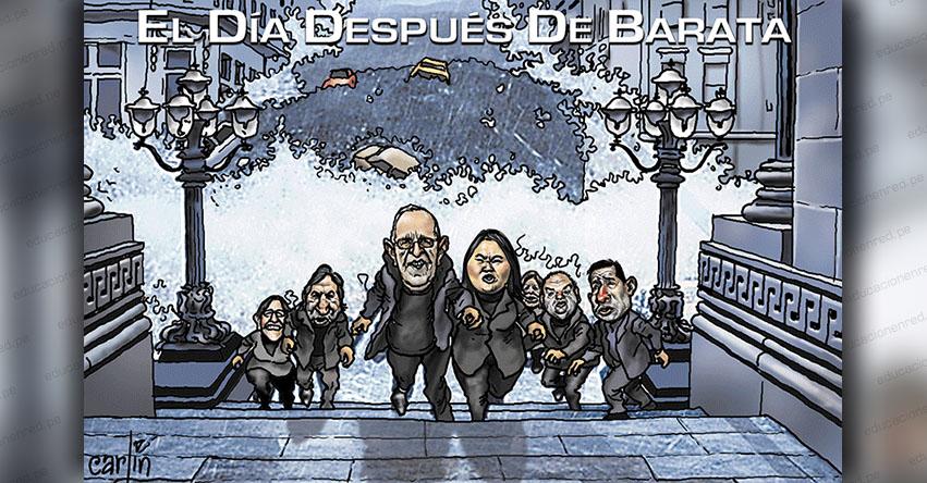 Carlincaturas Jueves 25 Abril 2019 - La República