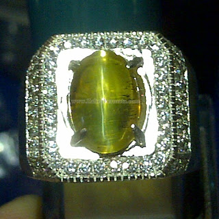 Cincin Batu Opal Cat Eye - ZP 871