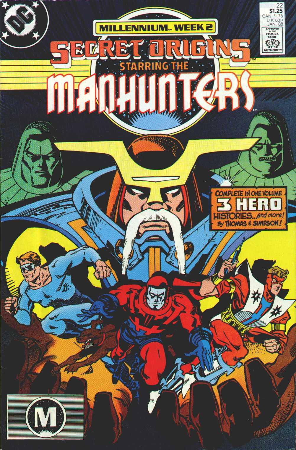 Read online Secret Origins (1986) comic -  Issue #22 - 1