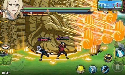 Naruto Senki MOD Sprite : Hashirama Replace Tsunade