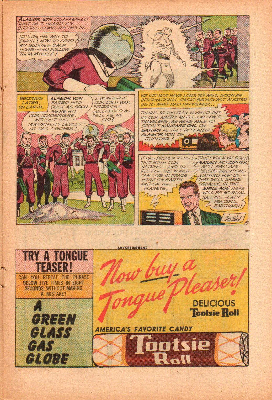 Strange Adventures (1950) issue 156 - Page 11