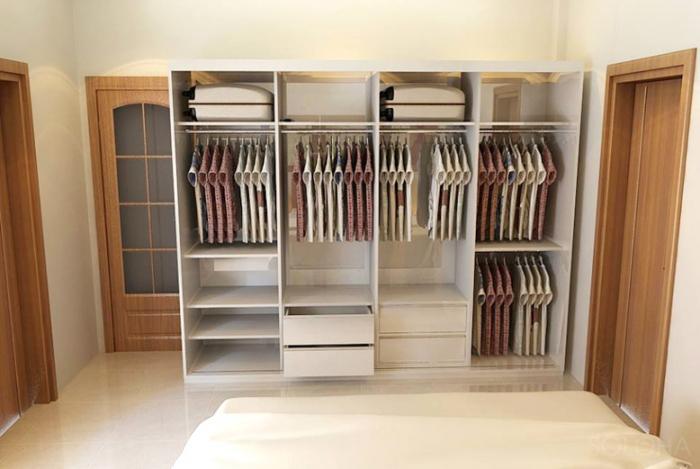 Cách chọn tủ quần áo đẹp cho phòng ngủ cá tính