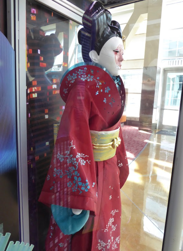 Ghost in the Shell Red Robed Geisha costume