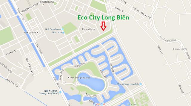 vị trí đắc địa chung cư eco city long biên