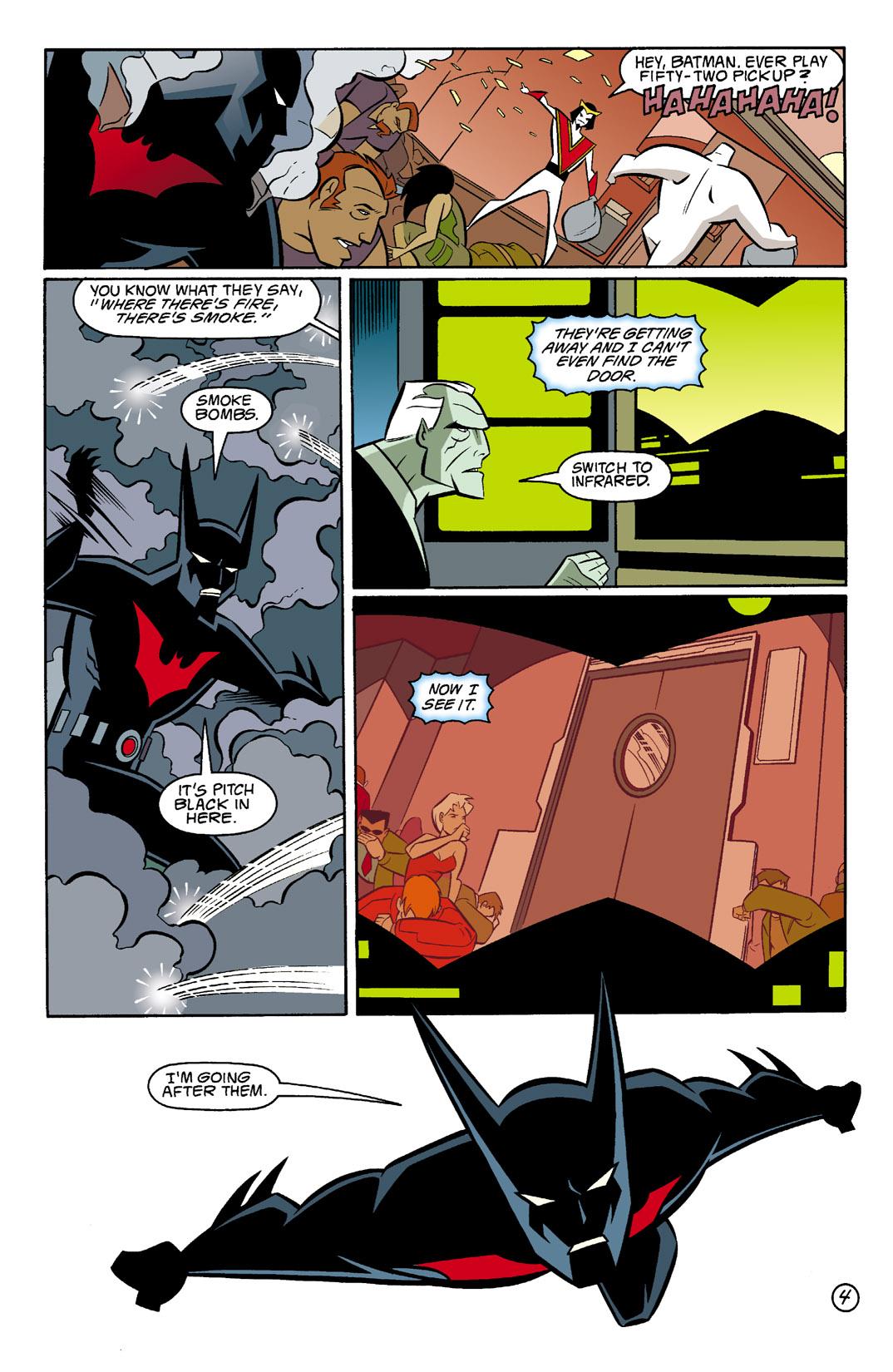 Batman Beyond [II] Issue #4 #4 - English 5