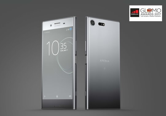 "Sony Xperia XZ Premium Wins ""Best New Smartphone"" at MWC 2017"