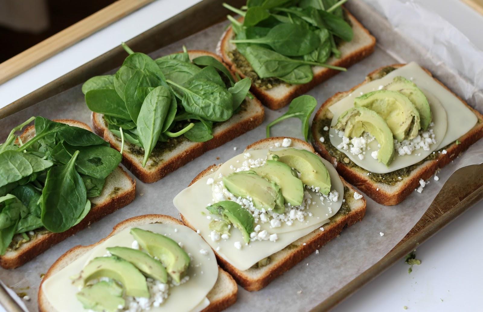 Green Goddess Grilled Cheese Panini Recipe — Dishmaps