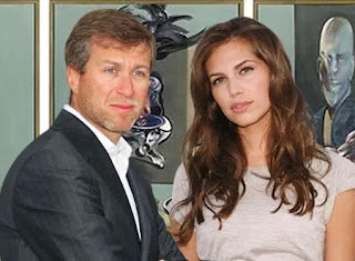 Roman Abramovich and wife, Dasha Zhukova Divorced