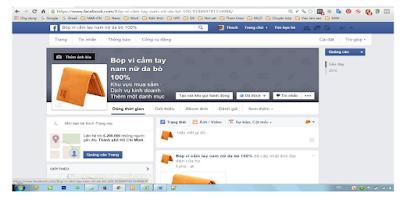 tạo hoàn chỉnh fanpage trong phương pháp seo fanpage facebook hiệu quả