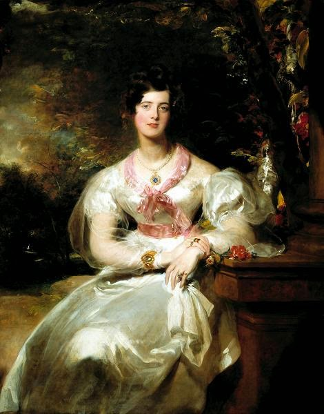 Portrait of the Honorable Mrs Seymour Bathurst
