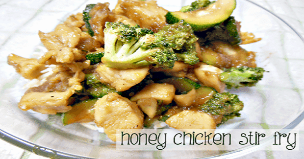 Honey Chicken Stir Fry Recipe