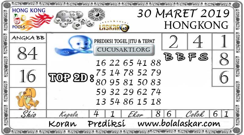 Prediksi Togel HONGKONG LASKAR4D 30 MARET 2019