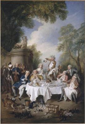 Le Déjeuner de Jambon by Nicholas Lancret, 1735
