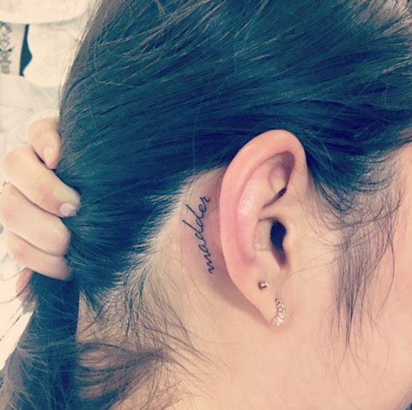 Ear Tattoos