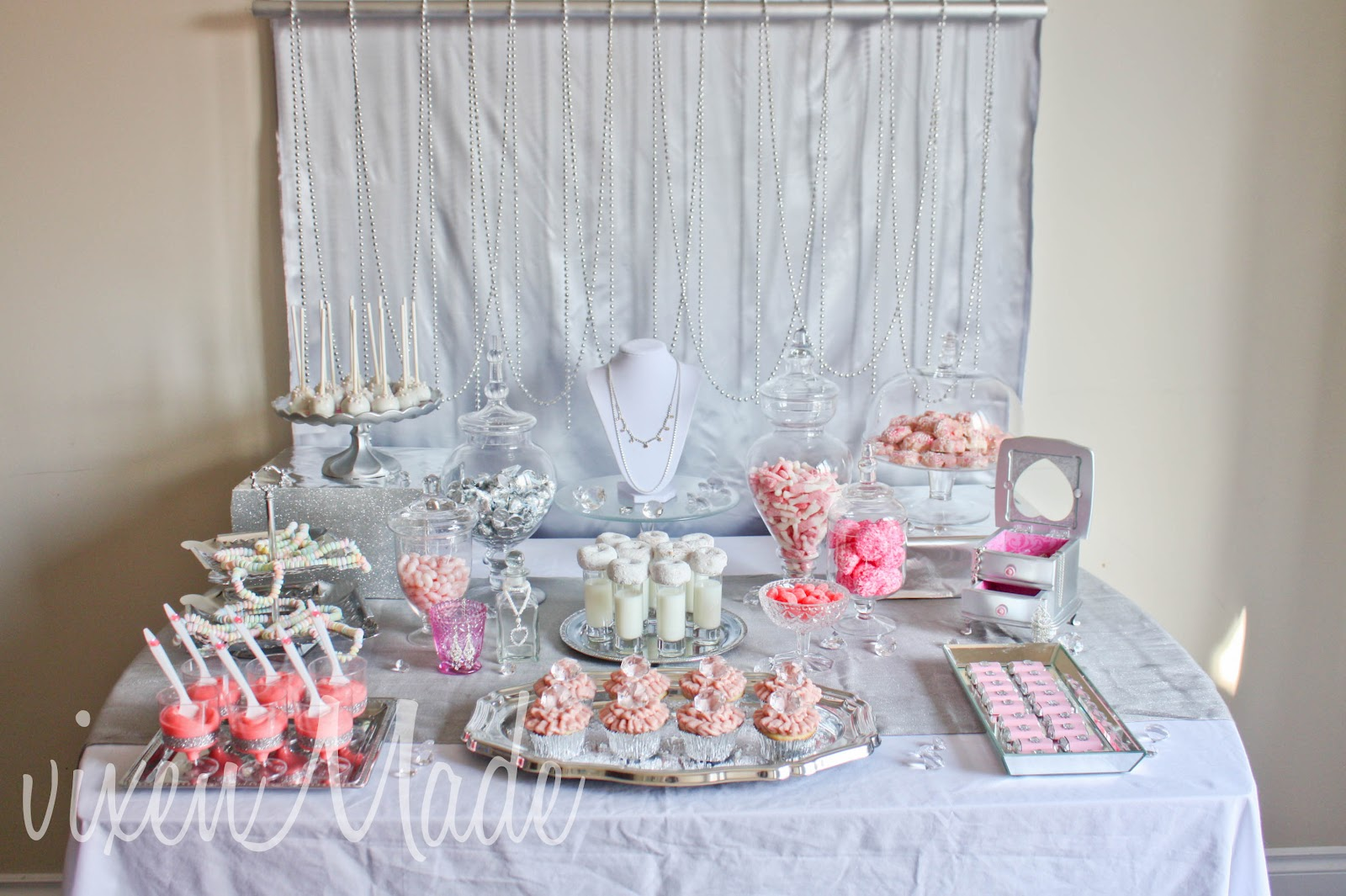 Girly Bling Themed Party - vixenmade parties