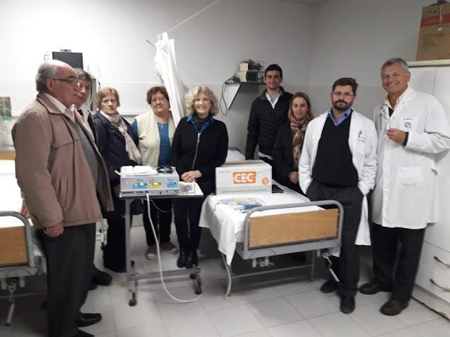 La cooperadora adquirió un Electrobisturí para el Hospital Dr. José María Minella