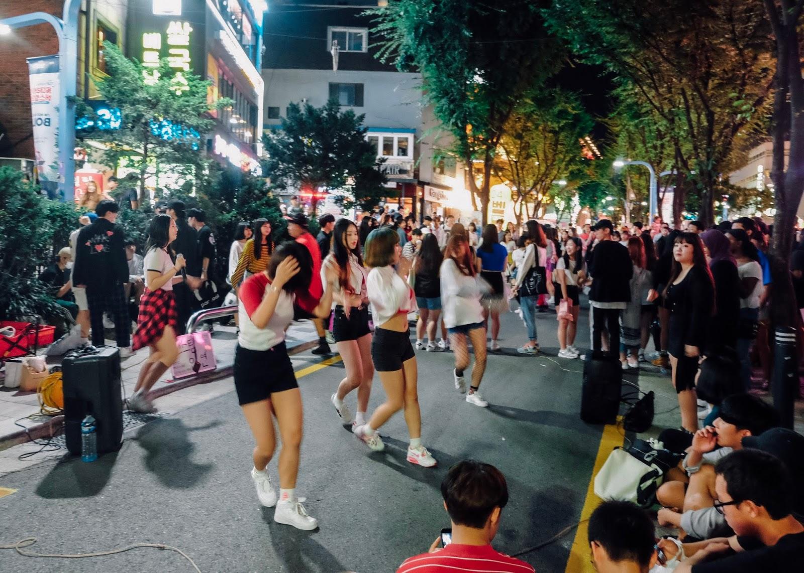 Hongdae Seoul Korea Curitan Aqalili