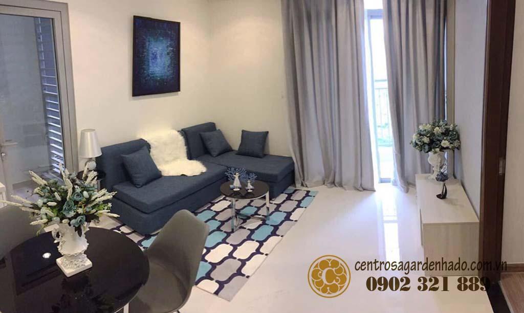 Căn hộ 52m2 Hado Centrosa full nội thất view đẹp - hình 1
