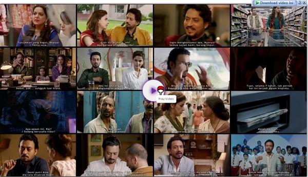 Screenshots Download Film Gratis Hindi Medium (2017) BluRay 480p MP4 Subtitle Indonesia 3GP Nonton Film Gratis Free Full Movie Streaming