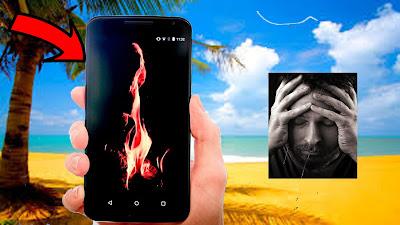 هذا التطبيق يحل لك مشكلة كبيرة يعاني منها هاتفك في فصل الصيف