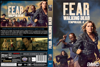 CARATULA [SERIE TV] FEAR THE WALKING DEAD TEMPORADADA 4