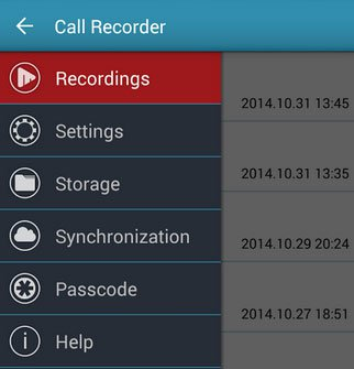 Automatic call recorder by clever mobile available on google playstore