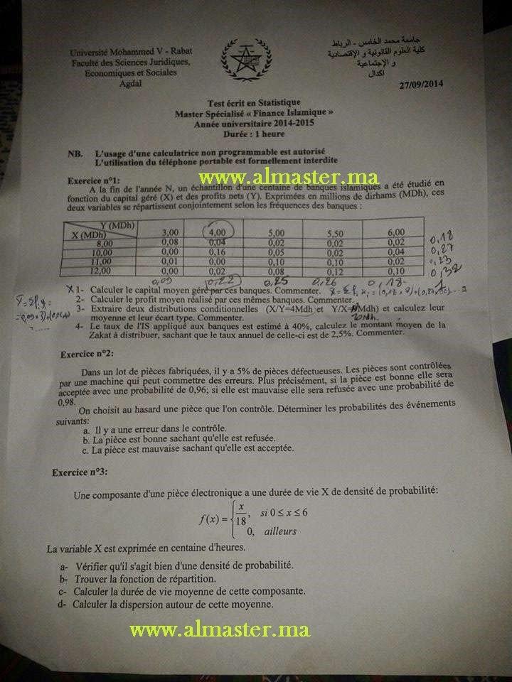 Examen Master De Gestion Free Book