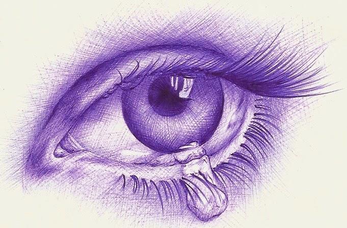 Ojo Llorando Para Dibujar