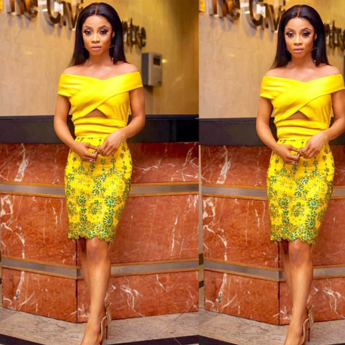 Why are you looking so skinny? Fans question Toke Makinwa over recent photo
