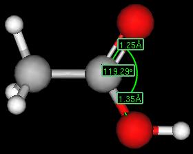 Molekul asam karboksilat