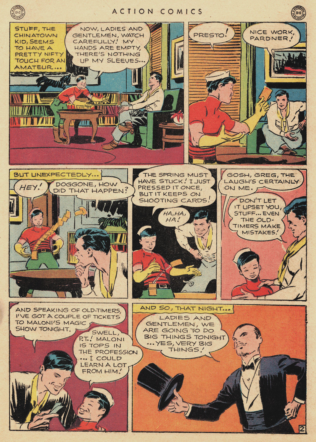 Read online Action Comics (1938) comic -  Issue #94 - 23