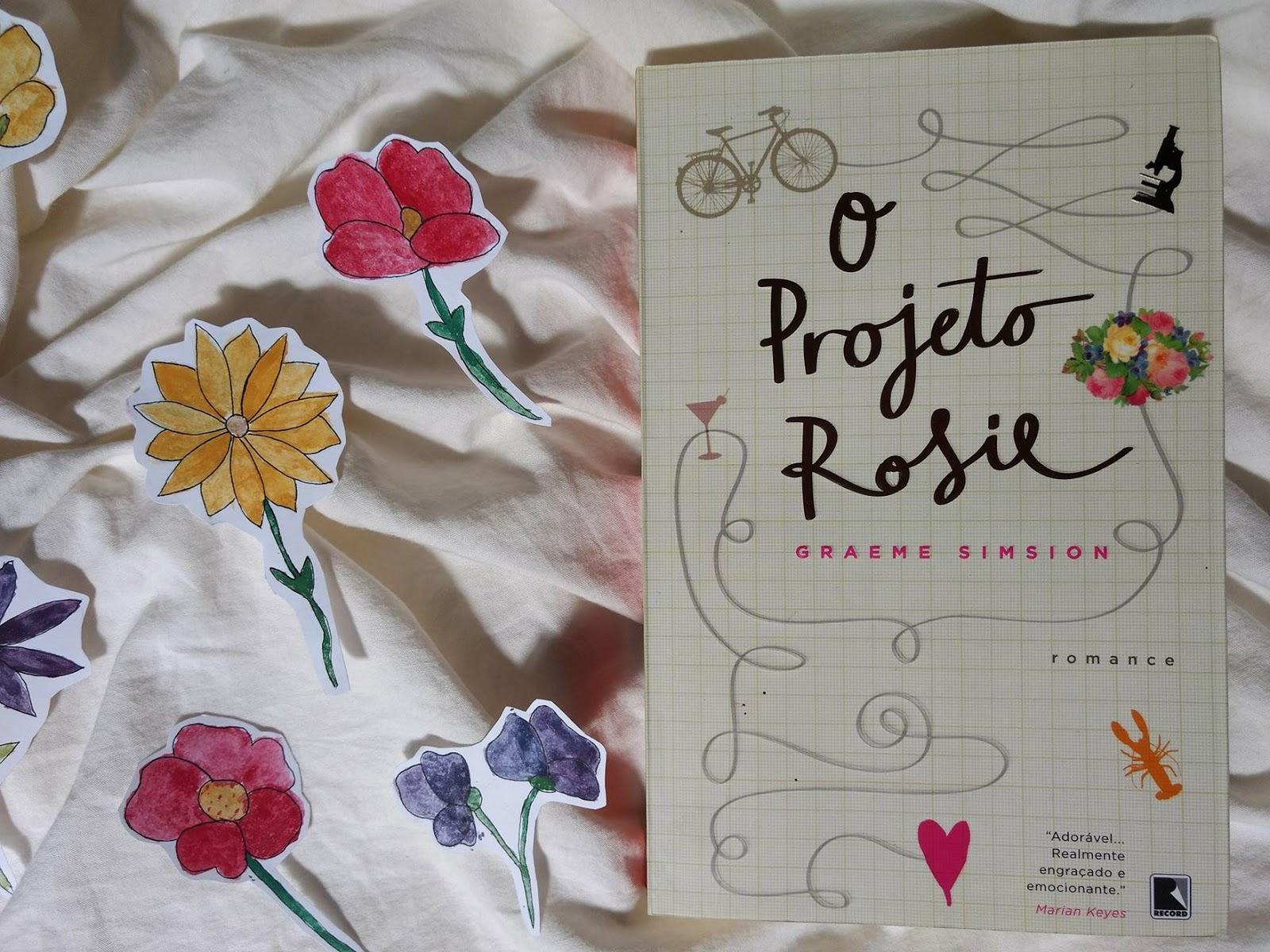 Capa do livro O Projeto Rosie
