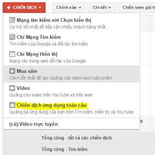 Chiến dịch quảng cáo gmail