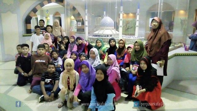 Lawatan Sambil Belajar SAR KAFA Al-Amin Kg Sri Damai ke Shah Alam
