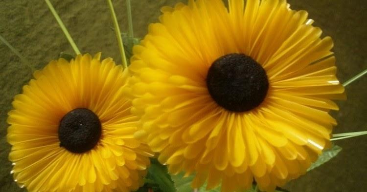 Berkreasi Cara Membuat Bunga Dari Sedotan Plastik