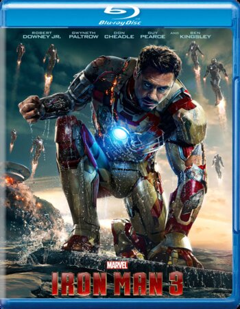 Iron Man 3 (2013) Dual Audio Hindi 720p BluRay x264 1GB ESubs