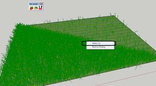 cara membuat rumput di sketchup,plugin Fur sketchup