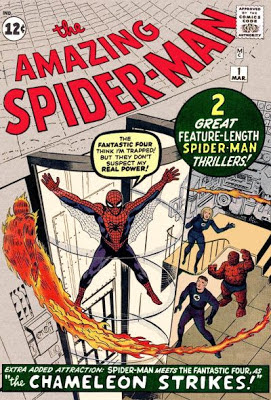 Amazing Spider-Man #1, the Fantastic Four