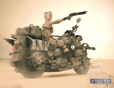 Heavy Motorcycle Wasteland Addon