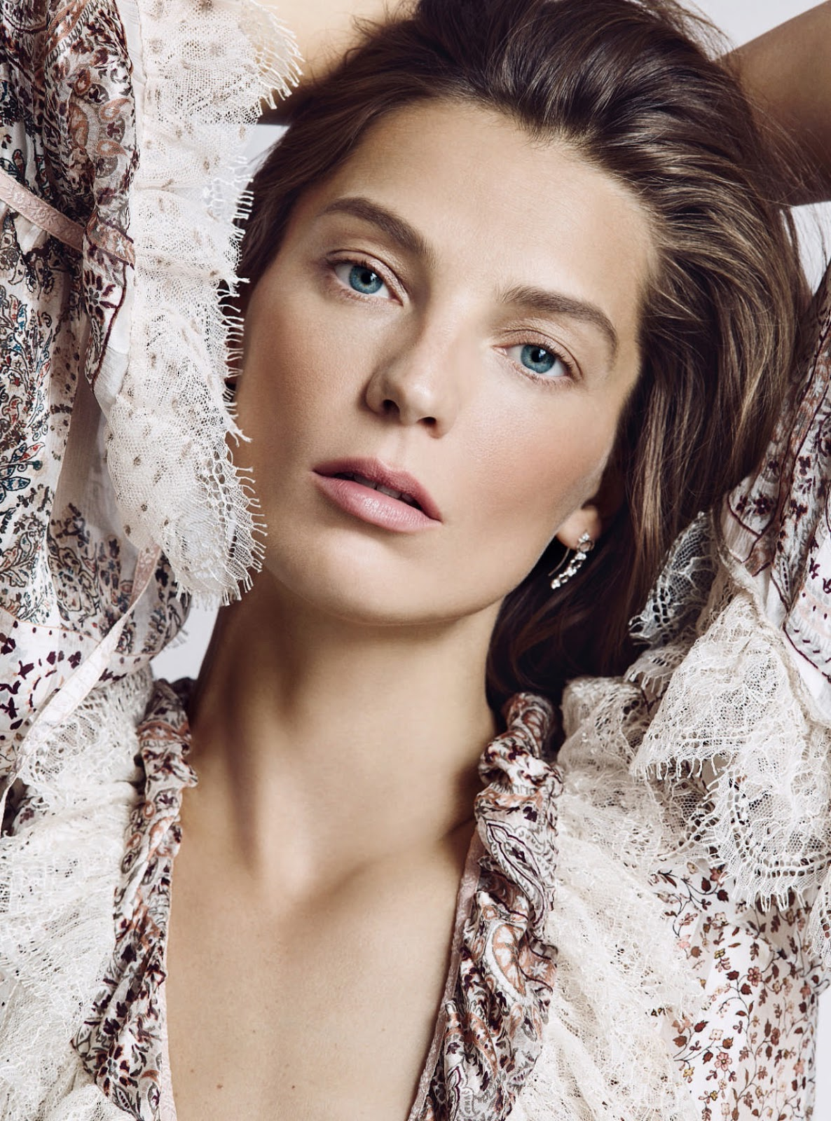 Daria Werbowy Shines On Fashion Canada S October 2013: Daria Werbowy By Nico For Uk Harper's Bazaar May 2016