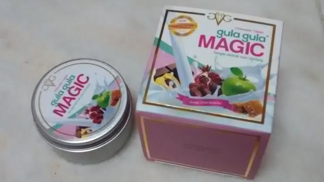 Packaging yang sangat menarik dari Gula-Gula Magic