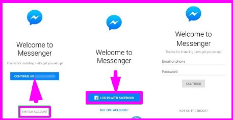 how to sign out in from facebook messenger