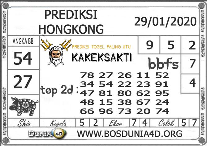 Prediksi Togel HONGKONG DUNIA4D 29 JANUARI 2020
