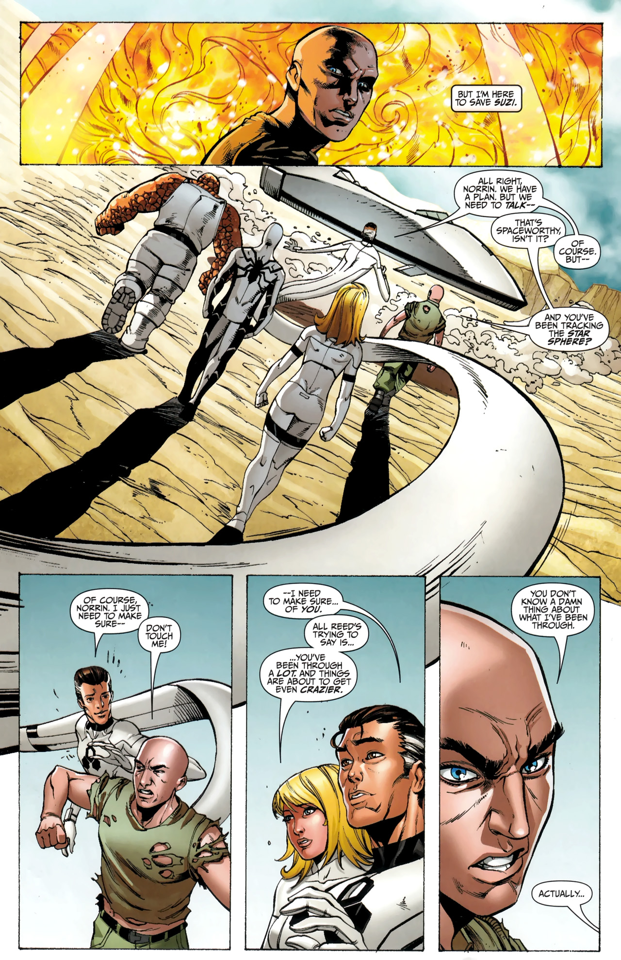Read online Silver Surfer (2011) comic -  Issue #4 - 12