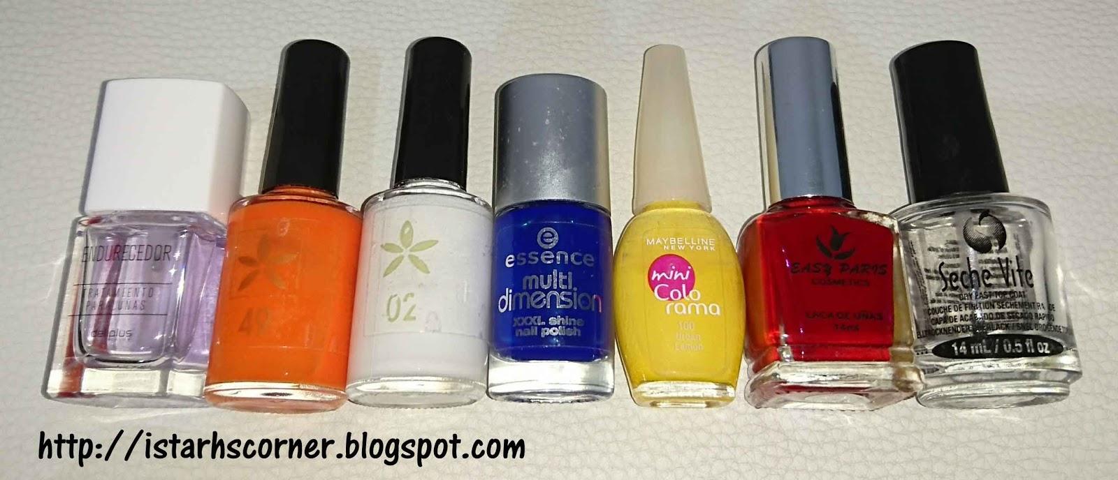 Istarh\'s Corner (Mi rinconcito): Reto Colores Cosas de Chicas Vol. 5 ...
