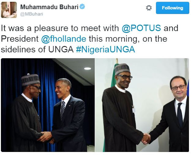 SEE THE TWEET BUHARI'S SENT TO OBAMA ABOUT NIGERIA AND RETIREMENT – WHAT HAPPENED AFTER THAT WILL SHOCK YOU (SEE MORE)  Nigerians ...WOW!!! Not only did they curse out the Nigerian President,they also tagged President Obama's twitter handle so that he would see what they were saying!