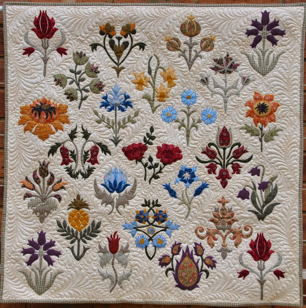William Morris In Quilting Aqc 2015 Part 2