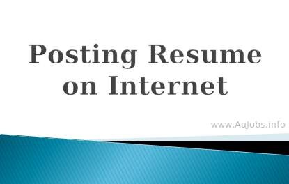 How to find a job in Australia - Posting Resume on Internet - Job Search Tips for Job Hunters