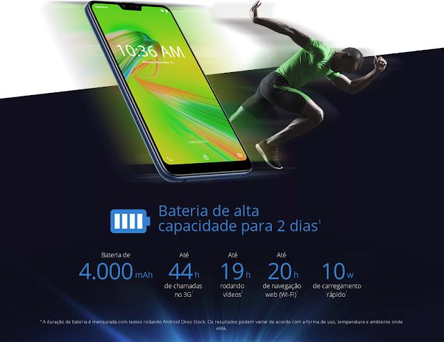 ASUS Zenfone Max Plus M2 Bateria de Alta Capacidade
